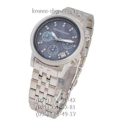 Michael Kors MK5021 Ritz Chronograph Silver/Blue