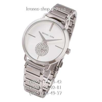 Michael Kors MK3638 Portia Silver/White