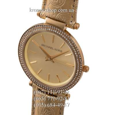 Michael Kors MK2351 Darci Leather All Gold
