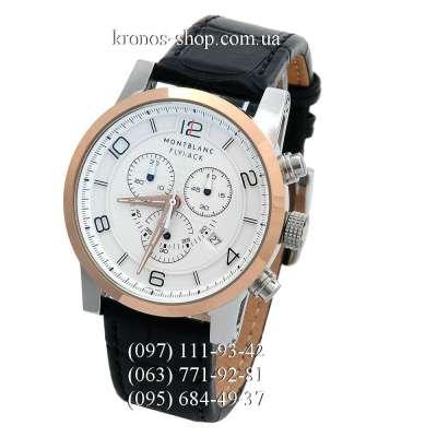 Montblanc TimeWalker Flyback Black/Gold/White