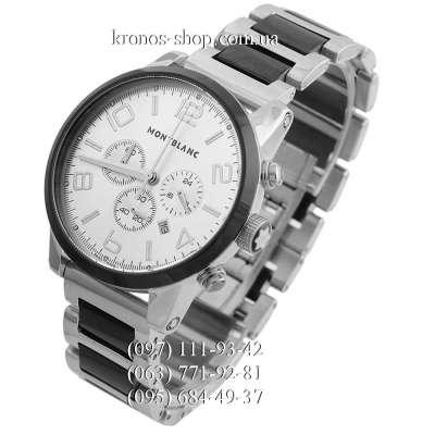 Montblanc TimeWalker Steel Silver-Black/Black/White