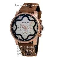 Montblanc Star Chronograph Brown/Gold/White