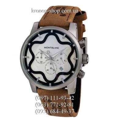 Montblanc Star Chronograph Brown/Silver/White