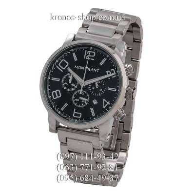 Montblanc TimeWalker Steel Silver/Black