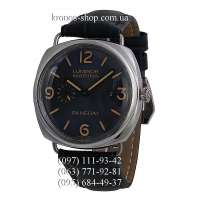 Panerai Luminor 1950 Marina Seconds Classic Black/Silver/Blue