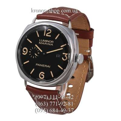 Panerai Luminor 1950 Marina Seconds Classic Brown/Silver/Black