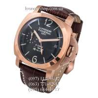 Panerai Luminor 1950 8 Days GMT Oro Rosso Brown/Gold/Black