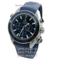 Omega Seamaster Planet Ocean Chronograph All Blue
