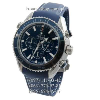 Omega Seamaster Planet Ocean Chronograph All Blue