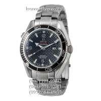 Omega Seamaster Planet Ocean Texture Date Steel Silver/Black/Black