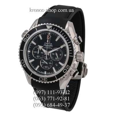 Omega Seamaster Planet Ocean Chronograph Black/Silver/Black