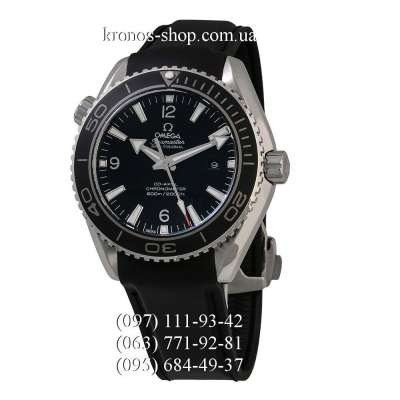 Omega Seamaster Planet Ocean Date Black/Silver/Black