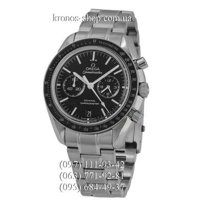 Omega Speedmaster Moonwatch Co-Axial Chronograph Silver/Black