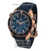 Omega Seamaster Planet Ocean Chronograph Blue/Gold/Blue