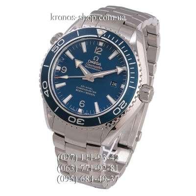 Omega Seamaster Planet Ocean Master Chronometer Silver/Blue