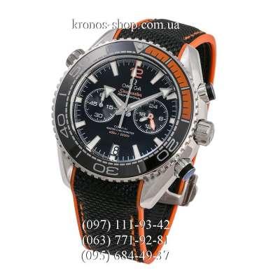 Omega Seamaster Planet Ocean Master Chronograph Black-Orange/Silver/Black