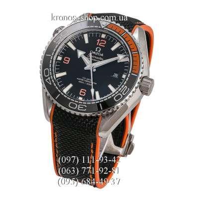 Omega Seamaster Planet Ocean Master Chronometer Black-Orange/Silver/Black