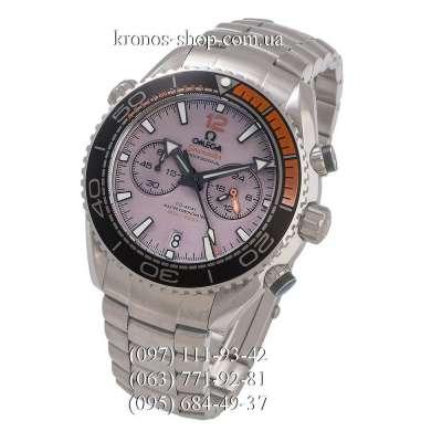 Omega Seamaster Planet Ocean Master Chronograph Steel Silver/Grey