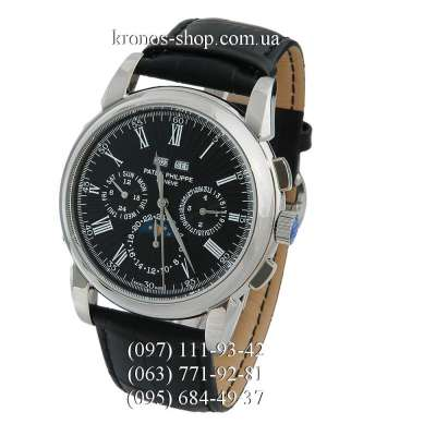Patek Philippe Grand Complications 5204 Roman Black/Silver/Black