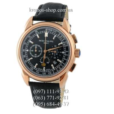 Patek Philippe Grand Complications Chronograph Black/Gold/Black