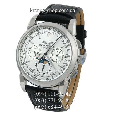Patek Philippe Grand Complications 5204 Black/Silver/White Crystals