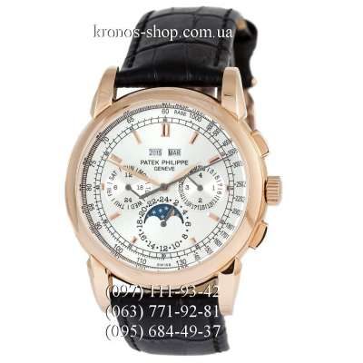 Patek Philippe Grand Complications 5204 Black/Gold/White Crystals
