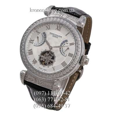 Patek Philippe Grand Complications Power Reserve Black/Silver/White