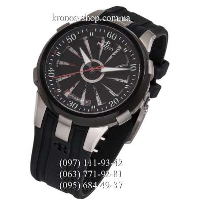 Perrelet Turbine Double Rotor A1047 Poker Limited Edition Black-Silver-Red