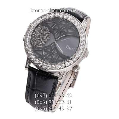 Piaget Altiplano Double Jeu Pave Black/Silver/Black