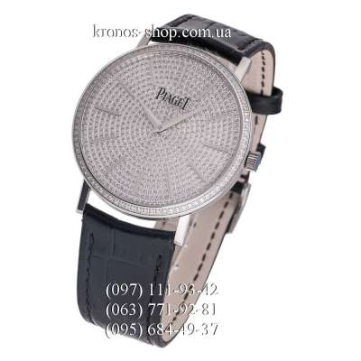 Piaget Altiplano Full Pave Black/Silver/Silver