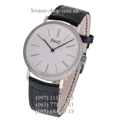 Piaget Altiplano Pave Black/Silver/White