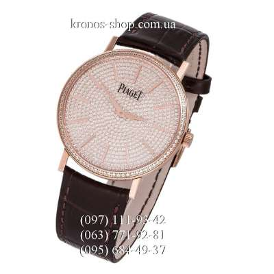 Piaget Altiplano Full Pave Brown/Gold/Gold