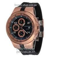 Porsche Design P`6000 Flat6 Chronograph Black/Gold/Black