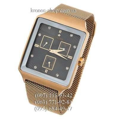 Rado Square Cosmograph Magnet Lock Gold/Black