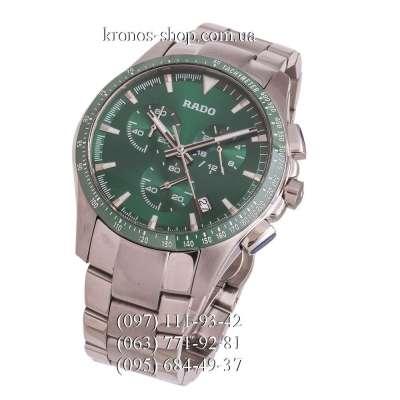 Rado Hyperchrome Chronograph Silver/Green