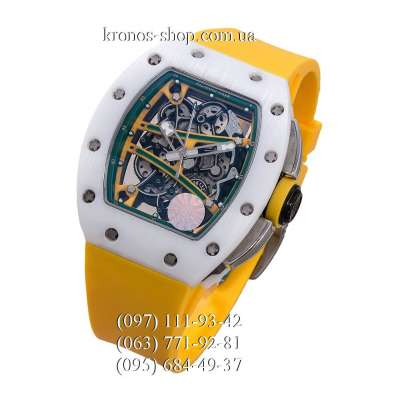 Richard Mille RM 061-01 Yohan Blake Yellow/White