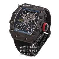 Richard Mille RM 035-02 Rafael Nadal Nylon All Black-Red