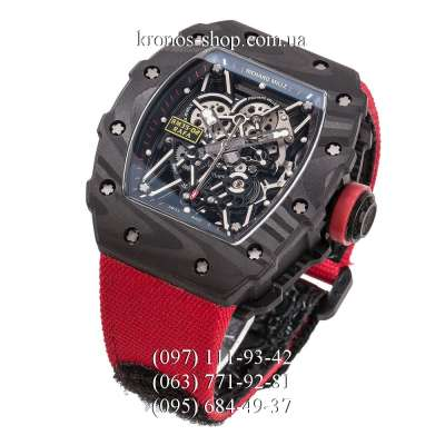Richard Mille RM 035-02 Rafael Nadal Nylon Red/Black-Red
