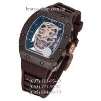 Richard Mille RM-052 Skull All Brown/Gold