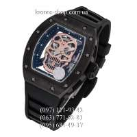 Richard Mille RM-052 Skull All Black/Gold