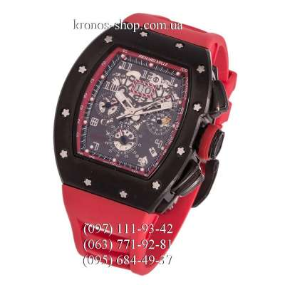 Richard Mille RM-011 Red/Black/Red