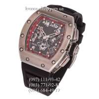 Richard Mille RM-011 Black/Silver/Red