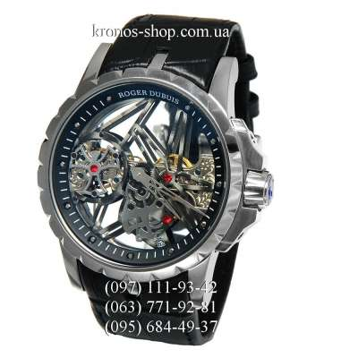 Roger Dubuis Excalibur Skeleton Flying Tourbillon Black/Silver