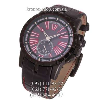 Roger Dubuis Excalibur Essential All Black-Red