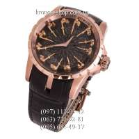 Roger Dubuis Excalibur Knights of the Round Table Black/Gold/Black