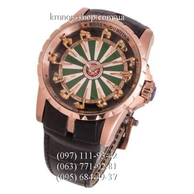 Roger Dubuis Excalibur Knights of the Round Table Black/Gold/Green-White