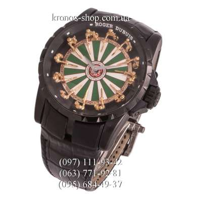 Roger Dubuis Excalibur Knights of the Round Table Black/Green-White