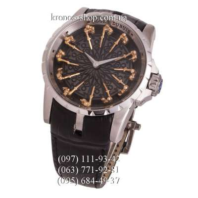 Roger Dubuis Excalibur Knights of the Round Table Black/Silver/Black
