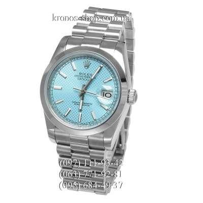 Rolex Datejust Steel Silver/Blue