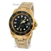 Rolex Submariner Date Ceramic Bezel Gold/Black/Black